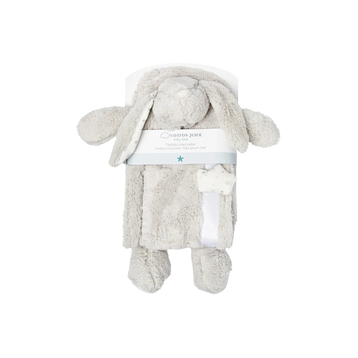 Medidor Infantil Cotton Juice Baby Home Conejito gris