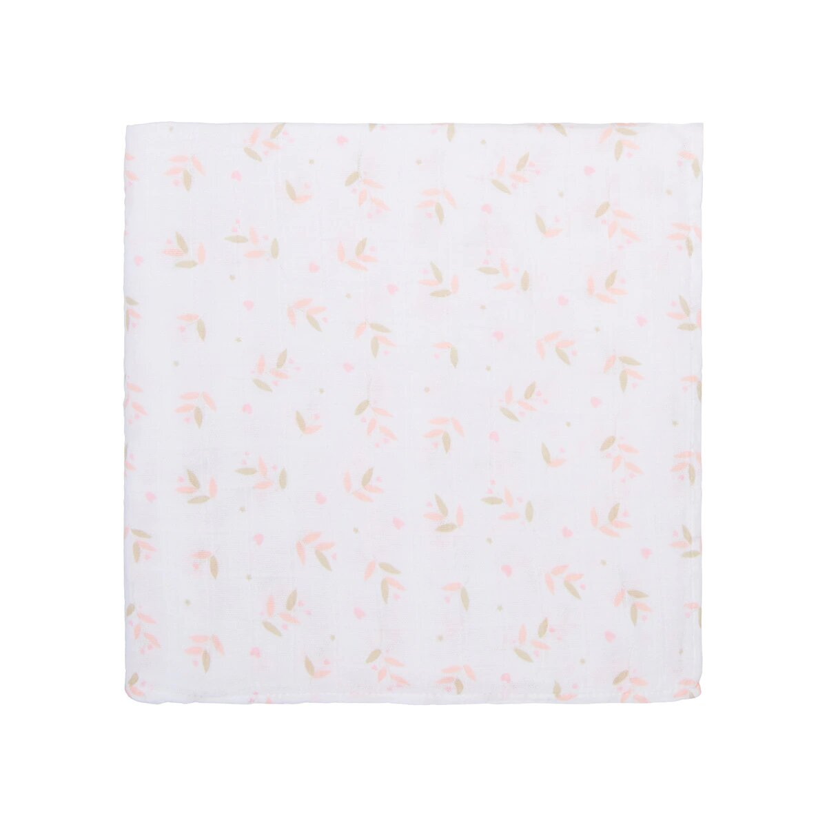 Muselina Cotton Juice Baby Home Flores rosa