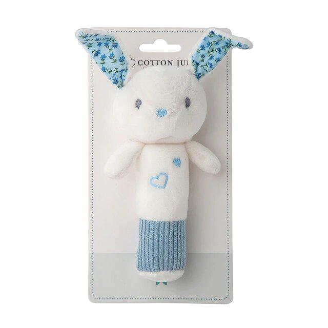 Sonajero Cotton Juice Baby Home Cri cri Conejo azul