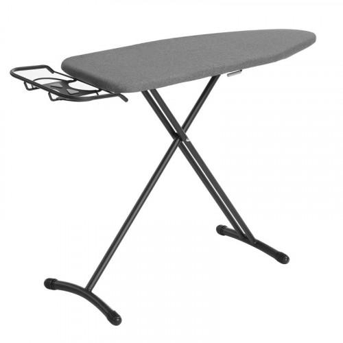 TABLA P  PLANCHAR 109CMX33CM NEGRO C FORRO GRIS RAYAS