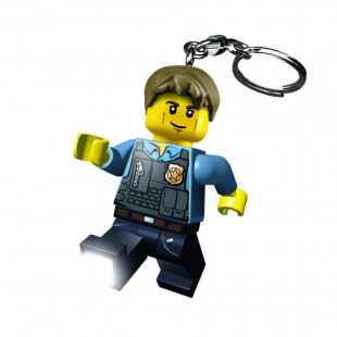LEGO CITY LLAVERO CON LUZ- POLICIA CHASE MCCAIN