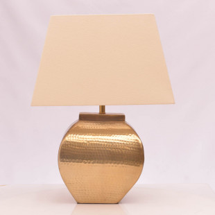 LAMPARA DE MESA 52 CM C/PANTALLA