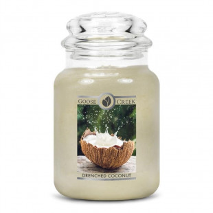 Vela aromática 680grs. Drenched Coconut