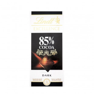 Chocolate Negro Lindt Excellence Tabla Amargo 85% Cacao 100