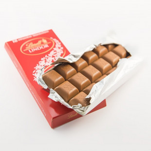 Chocolate con leche Lindt Lindor Tabla Chocolate Con Leche 1
