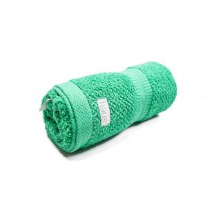 Toalla Rostro Frapeada verde 50 x 85cm 450grm