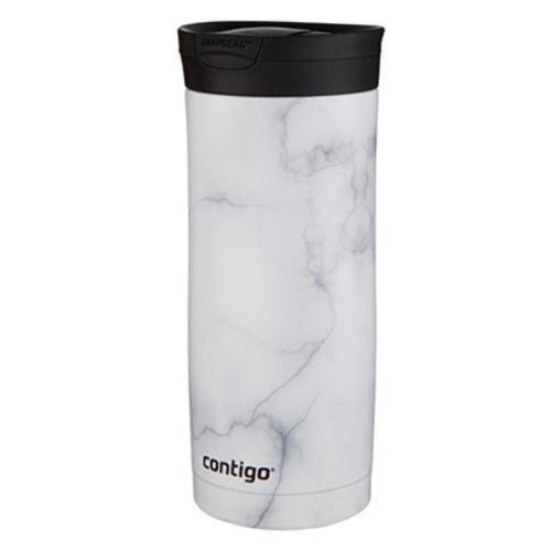 Vaso Termico Couture Snapseal White Marble 473ml