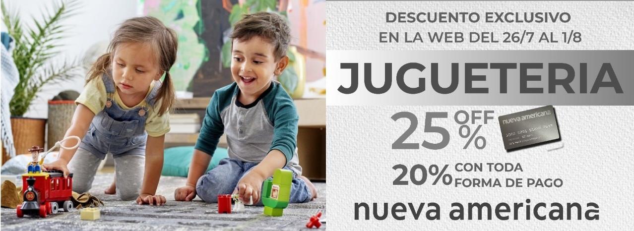 promo exclusiva web, juguetería